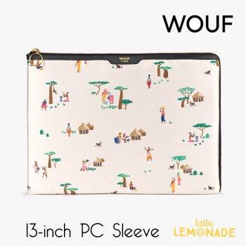 【WOUF】 13インチ PCケース 【Baobab】 バオバブ 樹木 アフリカ パソコン用スリーブ Macbook Pro 13inch PC Sleeve (SA210007)