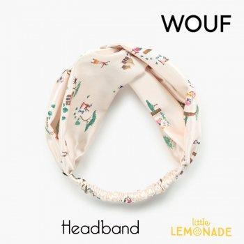 【WOUF】 ヘアバンド 【Baobab】 HeadBand バオバブ 樹木 アフリカ ヘアバンド ヘアアクセサリー (MSA210007)