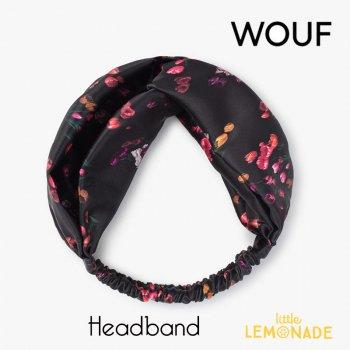 【WOUF】 ヘアバンド 【Tulips】 HeadBand 花フラワー チューリップ ヘアバンド ヘアアクセサリー (HBA210007)