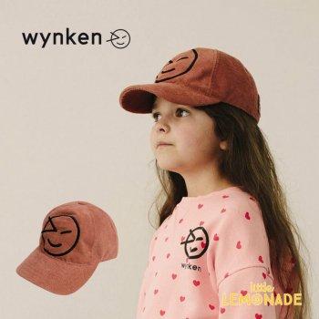【wynken】 NEW WYNKEN CAP / IMPALA TERRY 【2-6歳 / 6-12歳】 WK10A100 キッズサイズ キャップ 帽子 茶色 ウィンケン 21SS YKZ