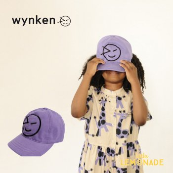 <img class='new_mark_img1' src='https://img.shop-pro.jp/img/new/icons1.gif' style='border:none;display:inline;margin:0px;padding:0px;width:auto;' />【wynken】 NEW WYNKEN CAP / PURPLE HAZE 【2-6歳 / 6-12歳】 WK10A100 キッズサイズ キャップ 帽子 紫 ウィンケン 21SS YKZ