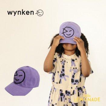【wynken】 NEW WYNKEN CAP / PURPLE HAZE 【2-6歳 / 6-12歳】 WK10A100 キッズサイズ キャップ 帽子 紫 ウィンケン 21SS YKZ