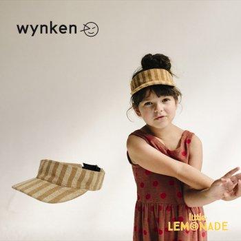 【wynken】 TERRY VISOR / LION STRIPE 【2-6歳】 WK10A106 サンバイザー ウィンケン 21SS YKZ SALE