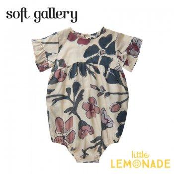 【Soft gallery】 Fran Jumpsuit【12か月/24か月/3歳】花柄 半袖 フリル (723-039-896) 21SS ソフトギャラリー YKZ SALE