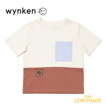 <img class='new_mark_img1' src='https://img.shop-pro.jp/img/new/icons1.gif' style='border:none;display:inline;margin:0px;padding:0px;width:auto;' />【wynken】 MID LINE TEE  IMPALA / OFF WHITE 【 4歳 / 6歳 / 8歳 / 10歳 】 WK10J40 半袖 Tシャツ キッズ ウィンケン 21SS YKZ