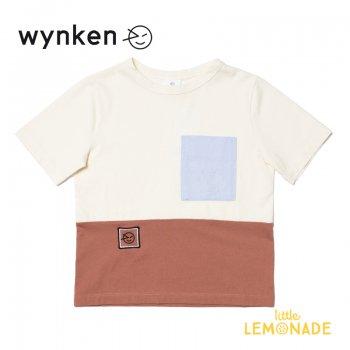 【wynken】 MID LINE TEE  IMPALA / OFF WHITE 【 4歳 / 6歳 / 8歳 / 10歳 】 WK10J40 半袖 Tシャツ キッズ ウィンケン 21SS YKZ