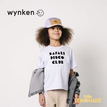 【wynken】 SAFARI DISCO TEE / SUNSET LILAC  【 4歳 / 6歳 】 WK10J58 半袖 キッズ ウィンケン 21SS YKZ