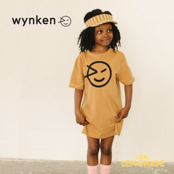 <img class='new_mark_img1' src='https://img.shop-pro.jp/img/new/icons1.gif' style='border:none;display:inline;margin:0px;padding:0px;width:auto;' />【wynken】 WYNKEN TEE SHIRT DRESS / LION  【 4歳 / 6歳 / 8歳  】 WK10J61 ワンピース 半袖 キッズ ウィンケン 21SS YKZ
