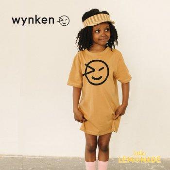 【wynken】 WYNKEN TEE SHIRT DRESS / LION  【 4歳 / 6歳 / 8歳  】 WK10J61 ワンピース 半袖 キッズ ウィンケン 21SS YKZ SALE