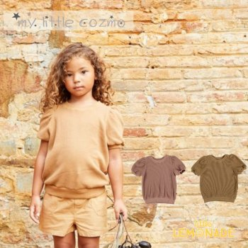 【MY LITTLE COZMO】CUADRILLE JERSEY KIDS TOPS ジャージートップス【4歳/6歳/8歳】YKZ 21SS(AMBERK119)