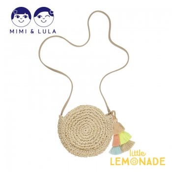 【Mimi&Lula】BORA BORA TASSLE BAG/ タッセル付き ポシェット バッグ 女の子 21SS(70300572)