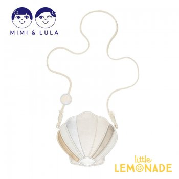 【Mimi&Lula】 SHIMMER SHELL BAG/ 貝殻型 ポシェット バッグ 女の子 21SS(70300874)