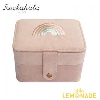 <img class='new_mark_img1' src='https://img.shop-pro.jp/img/new/icons55.gif' style='border:none;display:inline;margin:0px;padding:0px;width:auto;' />【Rockahula Kids】 Dreamy Rainbow Jewellery Box-Pink/レインボー ジュエリーボックス アクセサリーケース  (JB100P)