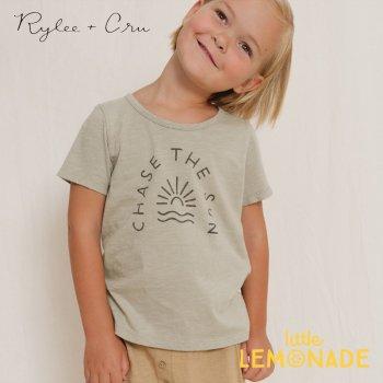【Rylee+Cru】 chase the sun tee【2-3歳/4-5歳/6-7歳】 RC006SE Tシャツ 半袖 ライリーアンドクルー 2021SS ykz