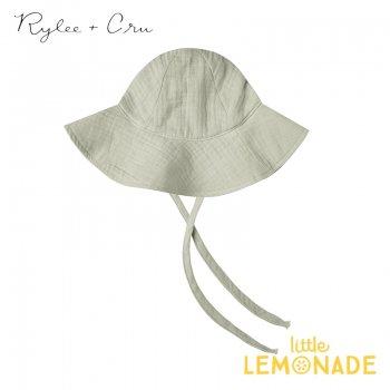【Rylee+Cru】 striped floppy hat SAGE 【6-12か月/1-3歳】 RCR244SE 帽子 ハット グリーン ライリーアンドクルー 2021SS ykz