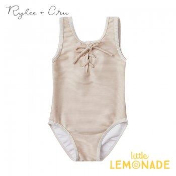 【Rylee+Cru】   ribbed laced onepiece SHELL 【4-5歳/6-7歳/8-9歳】 水着 RCR225HL ライリーアンドクルー 2021SS ykz