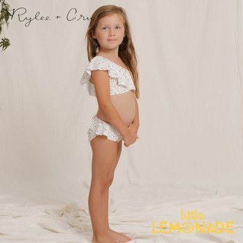 【Rylee+Cru】  spring meadow skirted bikini IVORY 【2-3歳/4-5歳】 水着 RCR102VY ライリーアンドクルー 2021SS ykz