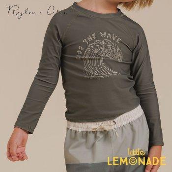 【Rylee+Cru】 ride the wave rashguard FERN【4-5歳/6-7歳/8-9歳】  水着 ラッシュガード RCR238FN ライリーアンドクルー 2021SS ykz