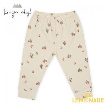 【Konges Sloejd】 POIRE  Pants 【6か月/9か月/12か月】  洋梨柄パンツ コンゲススロイド レギンス  KS1736  YKZ