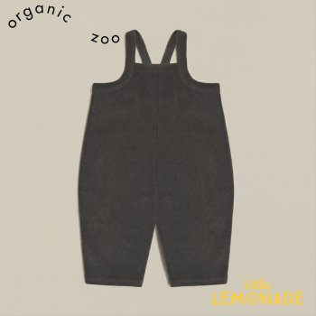 <img class='new_mark_img1' src='https://img.shop-pro.jp/img/new/icons1.gif' style='border:none;display:inline;margin:0px;padding:0px;width:auto;' />【organic zoo】 Shadow Terry Cropped Dungarees 【1-2歳/2-3歳/3-4歳】 パイル地 ダンガリー ジャンプスーツ (CDSOZ) 21SS