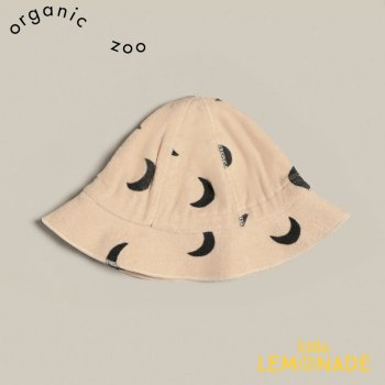 <img class='new_mark_img1' src='https://img.shop-pro.jp/img/new/icons1.gif' style='border:none;display:inline;margin:0px;padding:0px;width:auto;' />【organic zoo】 Pebble Midnight Terry Sun Hat【0-12か月/1-2歳/2-3歳】 帽子 月柄(SHPMOZ) 21SS