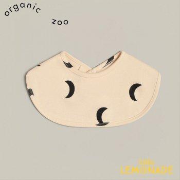 【organic zoo】 Pebble Midnight Bib お月さまミッドナイト ビブ スタイ 月柄 オーガニックコットン (BIBPM) 21SS