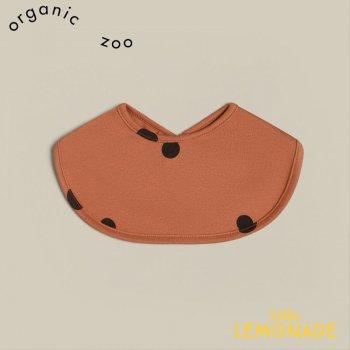 【organic zoo】 Earth Dots Bib アースドット ビブスタイ ドット柄 オーガニックコットン (BIBED) 21SS