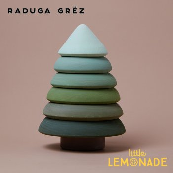 【Raduga Grez】 Fur tree stacking tower スタッキングタワー ツリー ロシア製 積み木 木製 おもちゃ RG04020