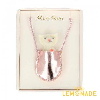【Meri Meri】 キャットポケット付き ネックレス Cat Pocket Necklace 小さな ぬいぐるみ (172846)