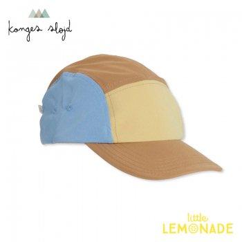 【Konges Sloejd】  REGULAR CAP/GOLDEN HAZE/HYDRANGA BLUE【サイズ1/2】 つば付き キャップ 帽子 日よけ  YKZ (KS2389)