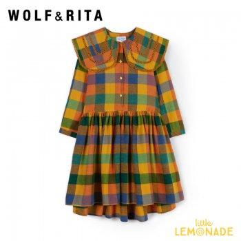 【WOLF&RITA】 GILBERTA CHELSEA  DRESS【4歳/6歳/8歳】 チェック柄 ワンピース WRAW21GILCH ドレス 21AW YKZ