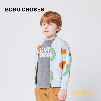 【BOBO CHOSES】 Fruits All Over zipped sweatshirt 【4-5歳 / 6-7歳 / 8-9歳】  221AC048  パーカー  21AW YKZ
