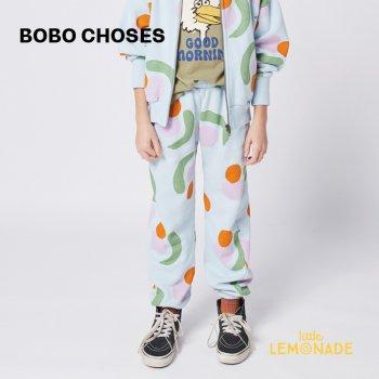 【BOBO CHOSES】 Fruits All Over jogging pants 【4-5歳 / 6-7歳 / 8-9歳】  221AC074  スウェットパンツ  21AW YKZ