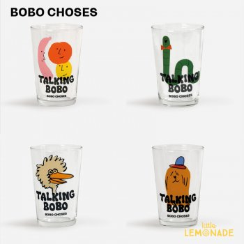 【BOBO CHOSES】 Talking Bobo glass set   221AU003 グラス4柄セット 21AW YKZ