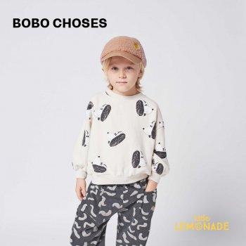 【BOBO CHOSES】 Doggie All Over sweatshirt 【2-3歳 / 4-5歳】  221AC026 犬 白 スウェット トレーナー21AW YKZ