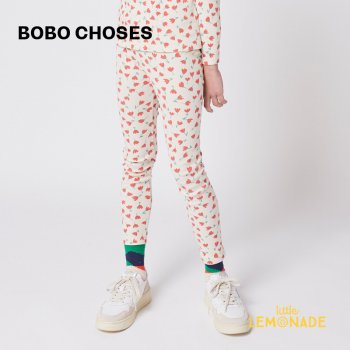 <img class='new_mark_img1' src='https://img.shop-pro.jp/img/new/icons1.gif' style='border:none;display:inline;margin:0px;padding:0px;width:auto;' />【BOBO CHOSES】 Flowers All Over leggings 【2-3歳 / 4-5歳】  221AC067 花柄 レギンス 21AW YKZ