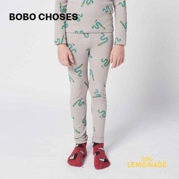 【BOBO CHOSES】 Scholar Worm All Over leggings 【2-3歳 / 4-5歳】  221AC068 あおむし レギンス 21AW YKZ