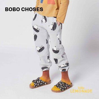 【BOBO CHOSES】 Doggie All Over jogging pants 【2-3歳 / 4-5歳】  221AC073 ジョガーパンツ 犬 21AW YKZ