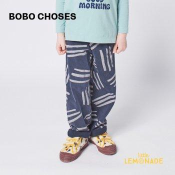 【BOBO CHOSES】 Scratch All Over fleece pants 【6-7歳 / 8-9歳 / 10-11歳】  221AC079  フリースパンツ 21AW YKZ