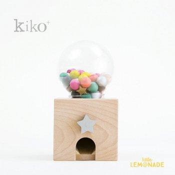 【kiko+】 gatcha gatcha(ガチャガチャ)木製 おもちゃ  (K008)    【正規品】 キコ ビビッドカラー kukkia