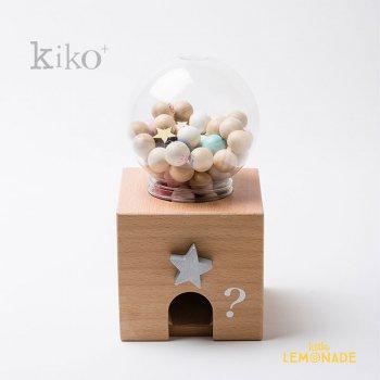 【kiko+】 gatcha gatcha bingo(ガチャガチャ ビンゴ)ビンゴカード&収納袋付  (K012)    【正規品】 キコ くすみ色 kukkia