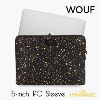 【WOUF】 15インチ PCケース 【Stars】 パソコン用スリーブ Macbook Pro 15/16 inch PC Sleeve スター 星 (SB210013)