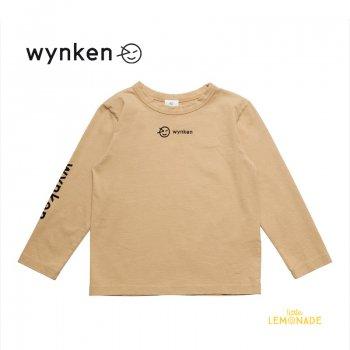 【wynken】 Slouch Sweat / SAND 【 4歳 / 6歳 / 8歳 】 WK11J05 子供服 長袖 シャツ KID ベージュ ウィンケン 21AW YKZ
