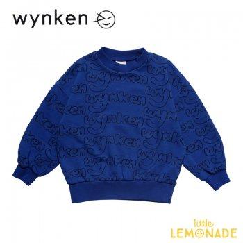 【wynken】 Everywhere Sweat / DISCOVERY BLUE   【 4歳 / 6歳 / 8歳 】  WK11J11  子供服 長袖 スエット 青 ウィンケン 21AW YKZ