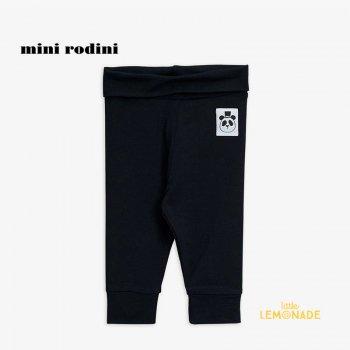 【Mini Rodini】 Basic nb leggings / Black 【4か月-9か月/9か月-1.5歳】(1000000799)  ベーシックシリーズ YKZ