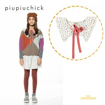 <img class='new_mark_img1' src='https://img.shop-pro.jp/img/new/icons1.gif' style='border:none;display:inline;margin:0px;padding:0px;width:auto;' />【piupiuchick】 round collar neck accessory/flowers allover 【S / M】 花柄付け襟 21AW (AW21.AC2101) YKZ