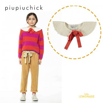 【piupiuchick】 round collar neck accessory /ecru 【S / M】 無地付け襟 21AW (AW21.AC2102) YKZ