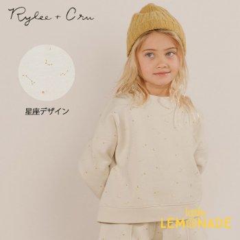 【Rylee+Cru】 BOXY FLEECE PULLOVER NIGHT SKY 【2-3歳/4-5歳】 RC280TN 21AW フリース トレーナー ライリー ykz