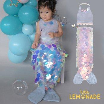 【Meri Meri】 マーメイド コスチューム スカート&タンクトップ 仮装 人魚 衣装 ドレスアップ マーメード(188899)