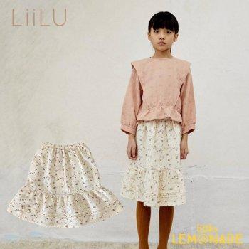 【LiiLu】 Susi Skirt 【4歳/6歳/8歳】 スカート 花柄 フリル  ロングスカート ドイツ リール YKZ